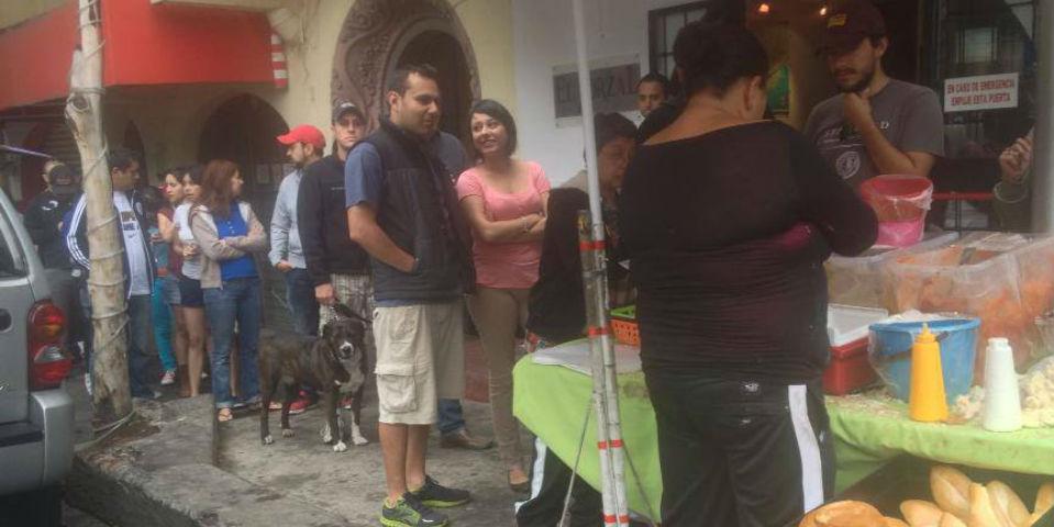 Procura llegar con tiempo, pues la fila suele ser larga. // Foto: Vía Facebook.