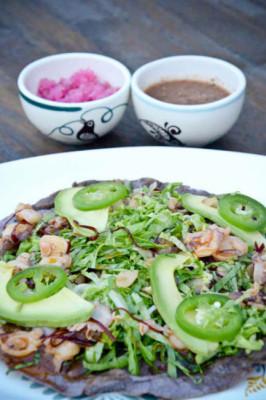 Olvera ofrece un menú sencillo y franco, con sabor a costa. // Foto: Especial