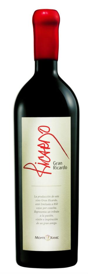 El Gran Ricardo de Monte Xanic obtuvo 90 puntos en la reseña de Wine Enthusiast. // Foto: Especial.
