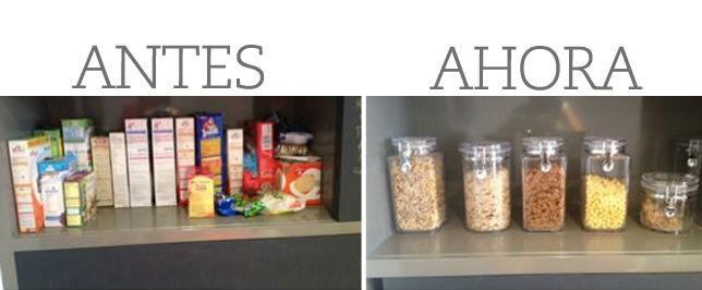 Organizar tus alimentos te ayuda a conservarlos por más tiempo, reducir espacio, ahorrar dinero y más. // Foto: Animal Gourmet.
