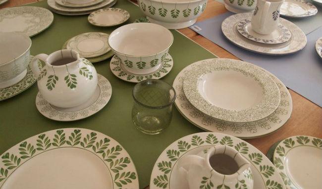 La cerámica diseñada por los hermanos Amoretti es pintada a mano. // Foto: Especial.