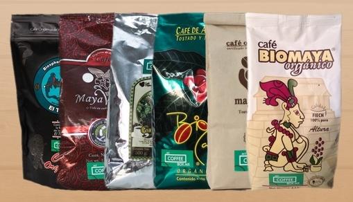 Por el momento ofrecen seis marcas distintas de café, aunque pronto aumentará la selección de My Coffe Box. // Foto: Especial