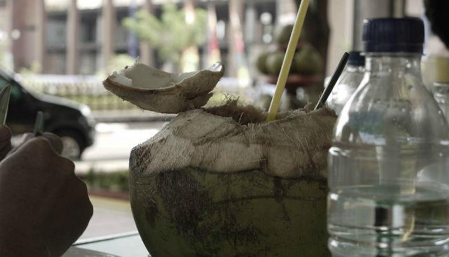 El agua de coco es la bebida isotónica de la naturaleza. // Foto: Especial.