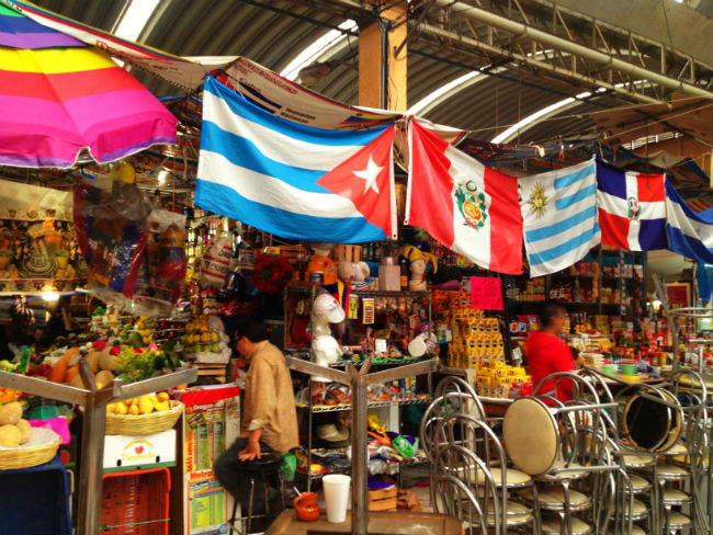 Sudamericanos y centroamericanos radicados en México vienen a buscar el sabor de sus países. // Foto: Especial