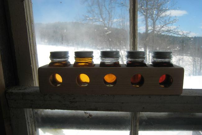 Con la intensidad del color aumenta también el sabor del jarabe de maple. // Foto: Especial