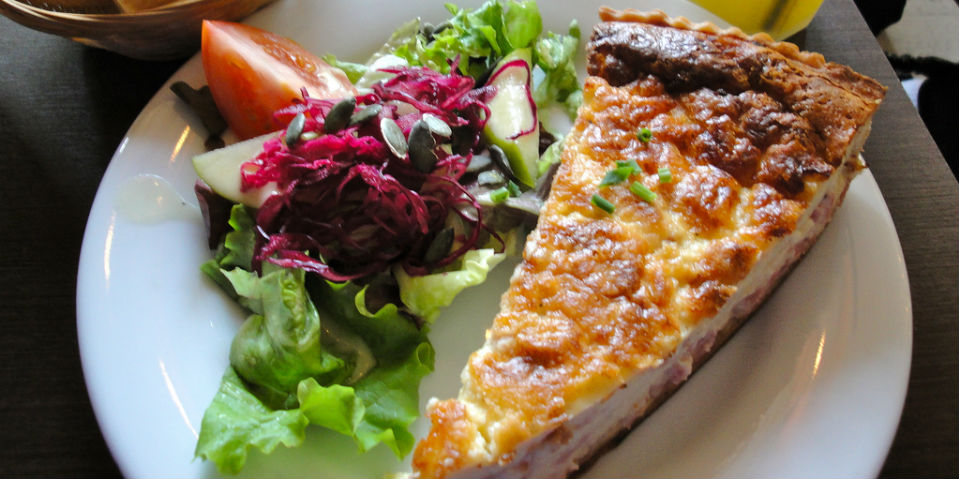 Receta quiche lorraine un cl sico franc s animal gourmet for Cocinar en frances