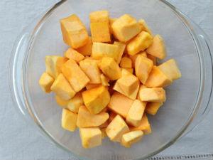 Para darle más sabor a la calabza puedes rostizarla en el horno. // Foto: Animal Gourmet.