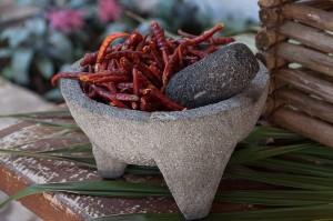 Las salsas, una de las recetas favoritas para hacer en el molcajete. // Foto: Especial.