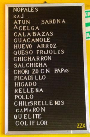 Combo de tres tacos. // Foto: Especial.