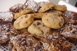 Además de deliciosos brownies, Lu tiene una gran selección de galletas y pasteles. // Foto: Animal Gourmet.