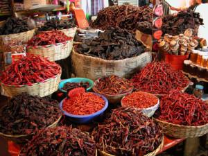 El chile, el único elemento que está presente en todos los moles. // Foto: Especial.