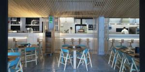 Zapote maneja el concepto de cocina abierta y tiene un diseño halagador a la vista. // Foto: twitter.com/zapote183