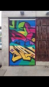 La fachada muestra el trabajo de artistas y grafiteros urbanos de Tijuana. // Foto: Especial.
