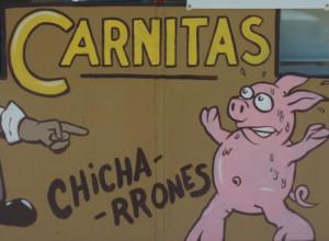 Comer carnitas, ante todo, es una actitud ante la vida. // Foto: Especial.