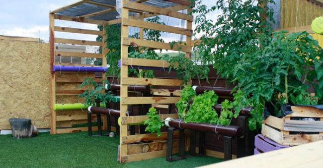 La cocina de Raíz es de estaciones y sólo preparan lo que cosechan en su huerto en el roof garden. // Foto: www.raiz.com