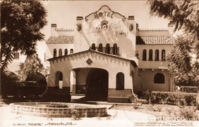 Fachada del Hotel Peñafiel. // Foto tomada del sitio mexicoenfotos.com