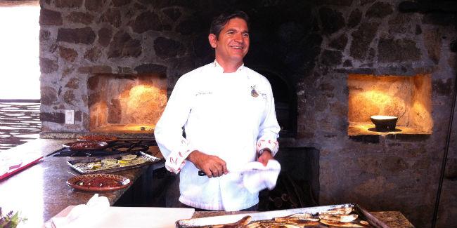 El chef Enrique Silva es originario de Navojoa, Sonora. // Foto: Animal Gourmet.