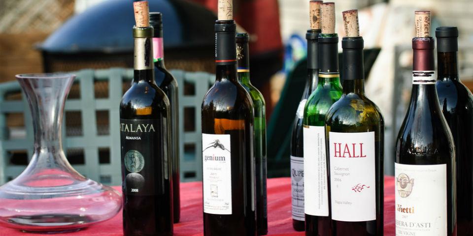 El vocabulario de las catas de vino