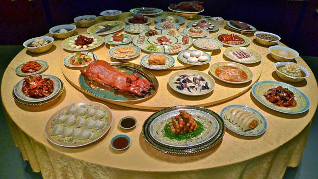 El museo cuenta con un restaurante en el que se sirven algunas de las especialidades culinarias que se muestran en el museo. // Foto: BBC