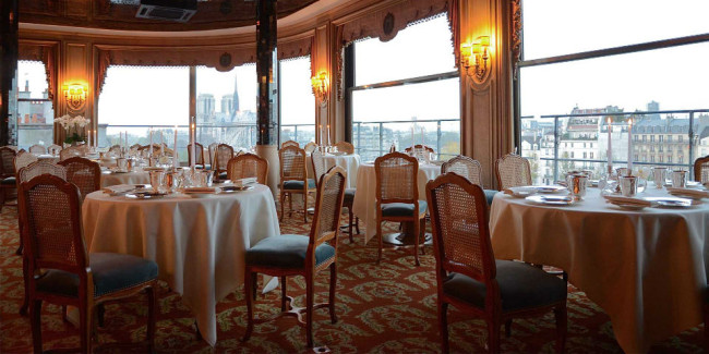 El restaurante Tour d'Argent fue fundado en 1582 y su plato insignia es el 'canard à la presse'. // Foto: Especial.