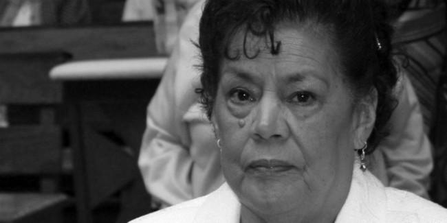 Gudelia Mendoza, abuela de Lalo Plascencia a quien enviamos un abrazo.  // Foto: Lalo Plascencia.