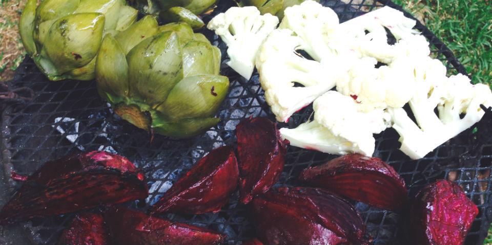 #Receta: Verduras asadas con aioli