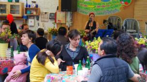En el Huerto Romita hay actividades de formación.