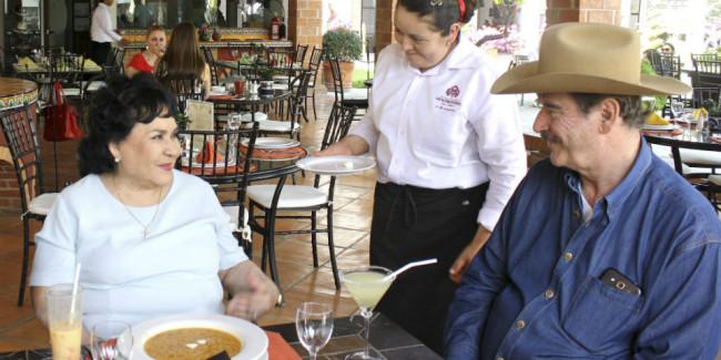 El Centro Fox cuenta con un restaurante cuyas ganancias se destinan a obras de filantropía. // Foto: Cuartoscuro.