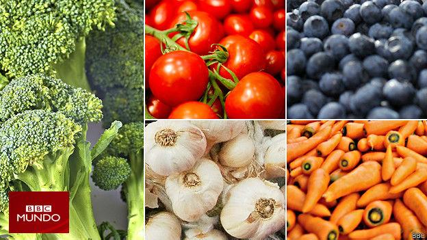 Gu a a todo color para comer 7 frutas o verduras al d a for A comer en frances