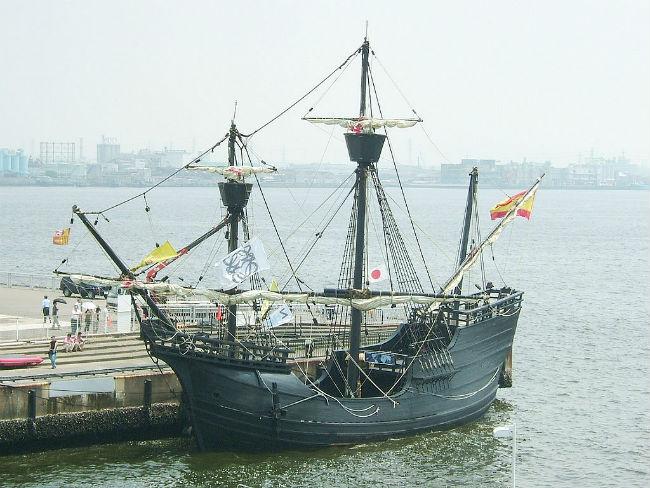 Las naos eran embarcaciones españolas que podrían transportar hasta 180 toneladas de mercancia provenientes de Oriente. // Foto: Especial.