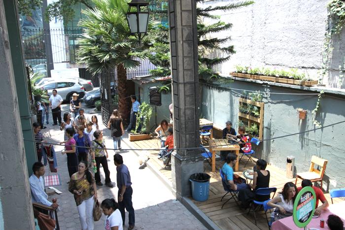 También hay espacio para echarse una copa o café. // Foto: www.proyectofusion.com