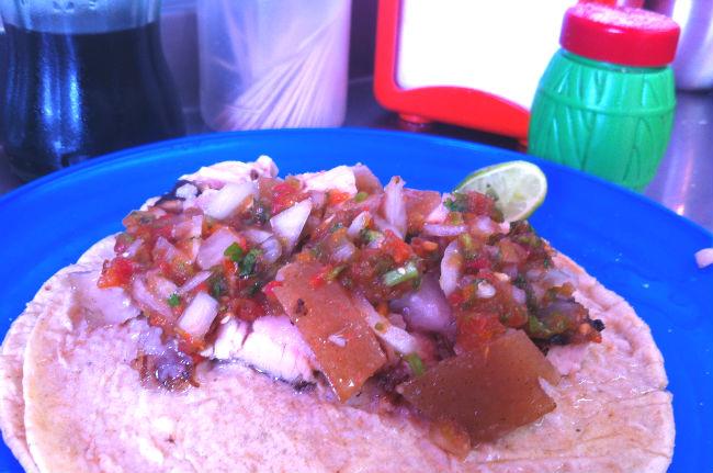 Una vez que pruebes los tacos de barriga de El Rincón Tarasco tu vida no será igual. // Foto: Animal Gourmet.