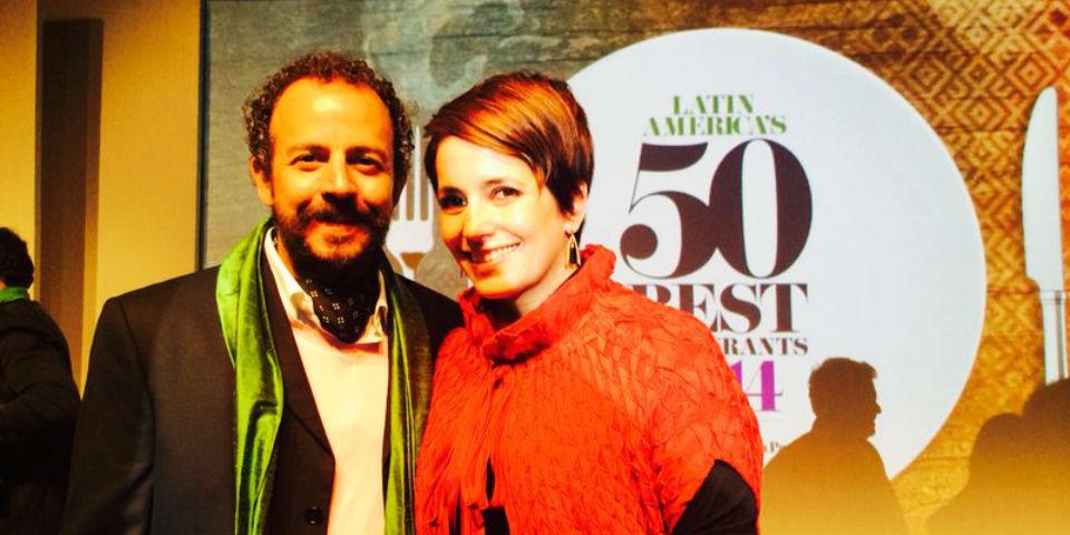 En 2014, la pareja de chefs se anotó un logro más: Manzanilla se posicionó en el lugar 25 de la lista Latin America's 50 Best. //  Foto: Latin America's 50 Best.