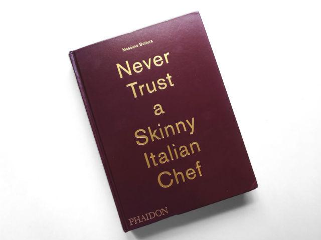 El primer libro de Massimo Bottura, chef representativo de la cocina moderna italiana. // Foto: Especial.