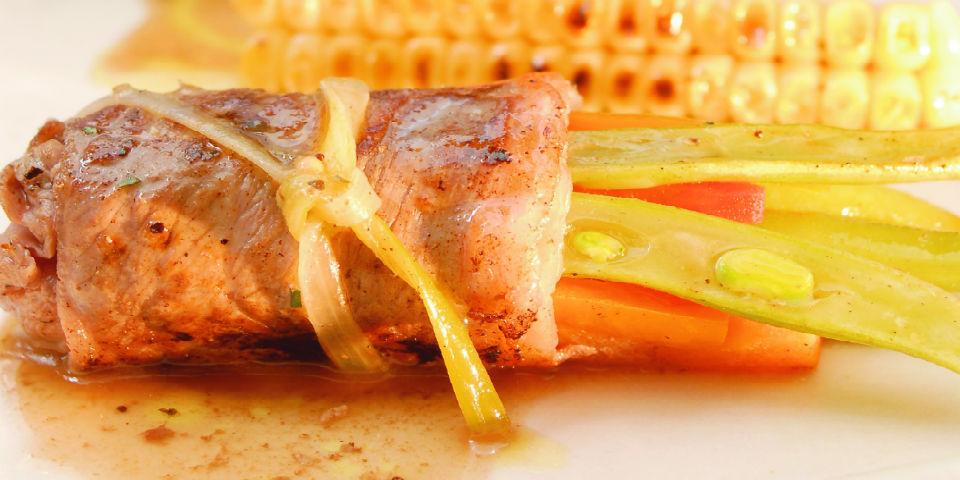 #RECETA Envueltos de carne con verduras