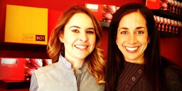 Connie y Jimena Gil, creadoras de Mexican Food Tours. // Foto: Mayalen Elizondo.