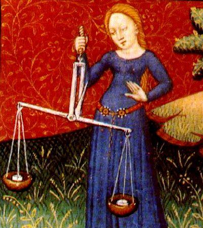 Los Libra siempre están sopesando las cosas para encontrar el justo medio de sus decisiones. // Imagen: Wiki Commons.