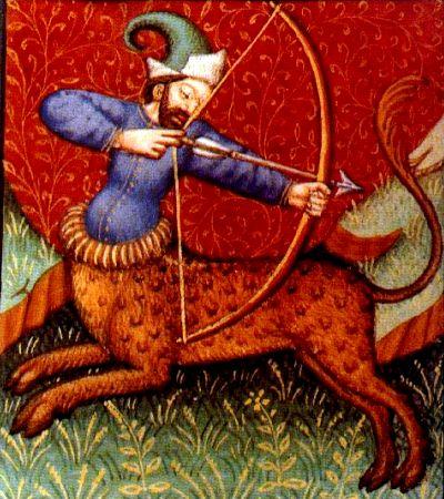 Sagitario, el último signo de fuego, es el de la sabiduría y el conocimiento compartido. // Imagen: Wiki Commons.