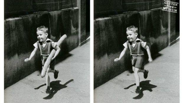 """""""Esta imagen de Willy Ronis me la sugirió mi amiga Céline"""", cuenta Coulet. """"Se trata de un gran fotógrafo y por eso quise darle importancia en mi museo"""". Coulet no tenía ninguna intención de ser anónimo, simplemente decidió no firmar su blog, el cual describe como una colección de detournement - un concepto que nació en el movimiento situacionista y que consiste en tomar algo para distorsionarlo con un efecto crítico."""