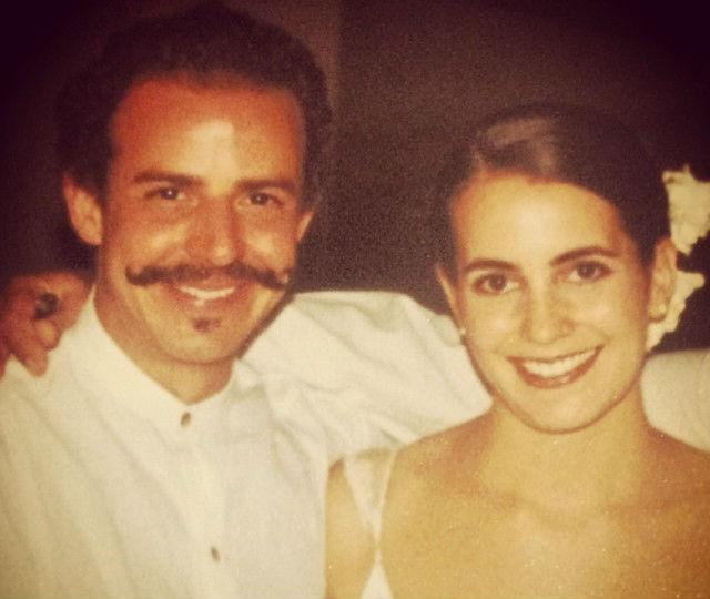 Casi tres años después de que naciera Manzanilla, Benito y Solange decidieron casarse. // Foto: Solange Muris (Instagram).