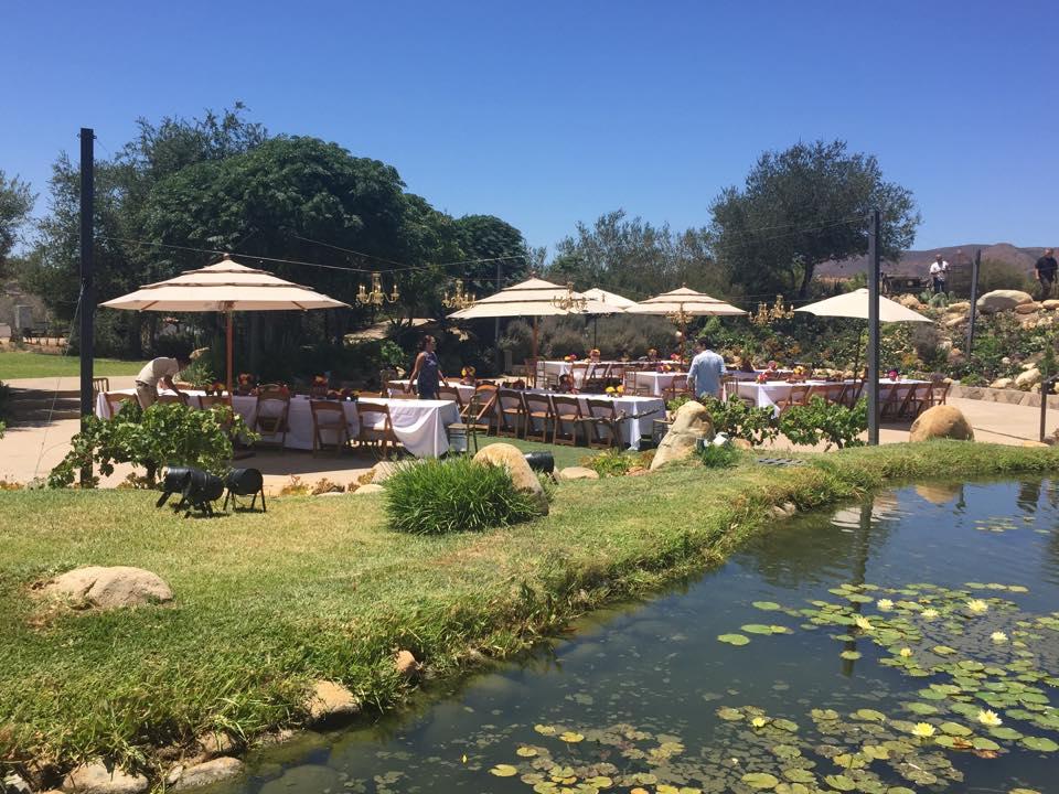 El escenario de La Singularidad en La Lomita. // Foto: Hacienda La Lomta (Facebook).