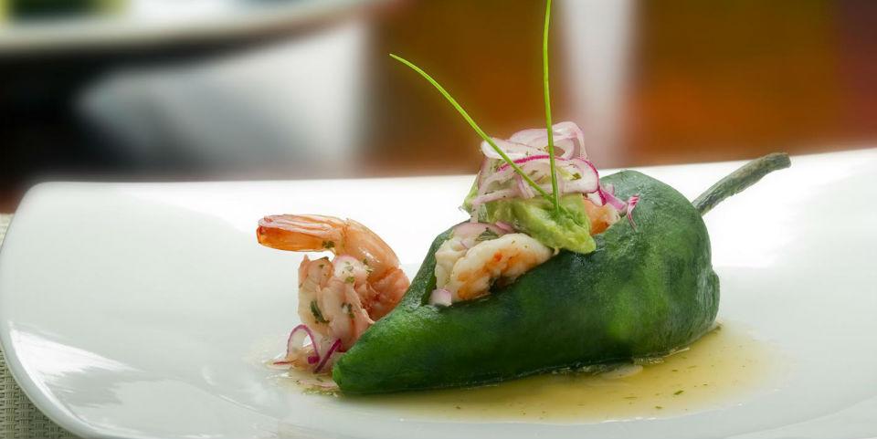 RECETA Chile relleno de escabeche de camarón - Animal Gourmet