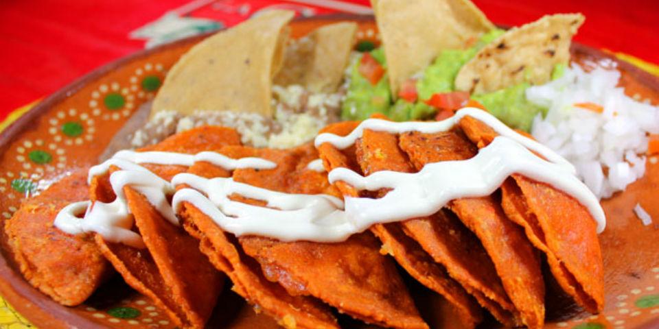 #RECETA Enchiladas potosinas - Animal Gourmet
