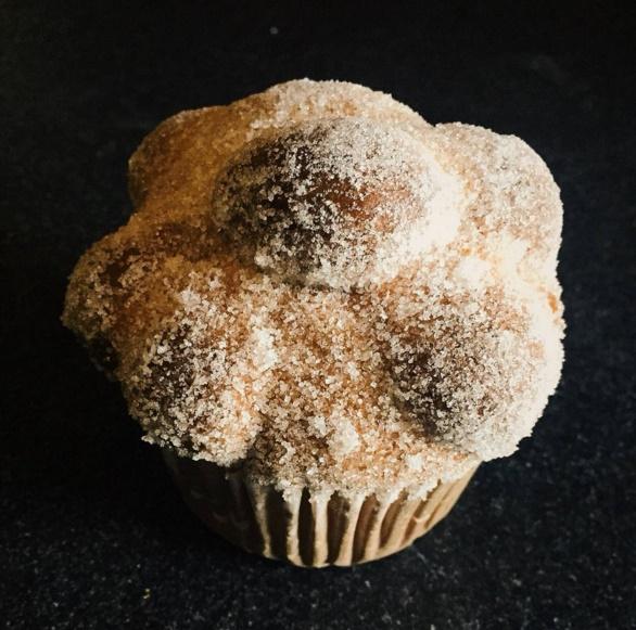 muffin pan de muerto