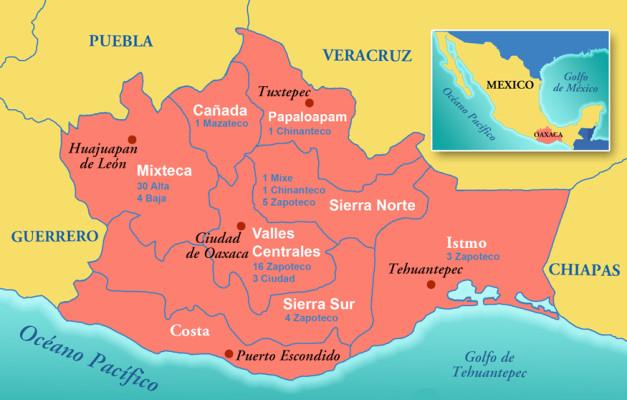 regiones_oaxaca