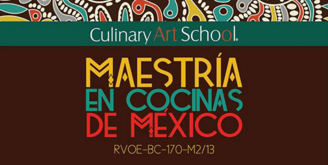 maestria cocinas de mexico