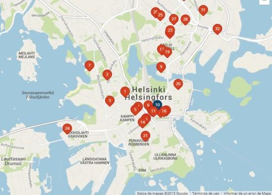 Helsinki, la capital de Finlandia.