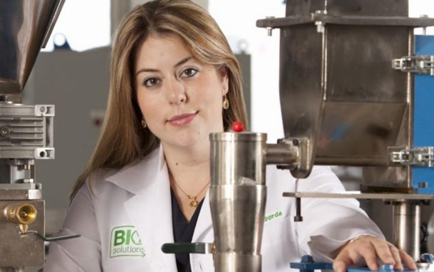 Ana Laborde, creadora de BioSolutions. // Foto: Miguel Malo para BioSolution.