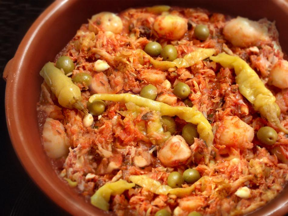 Recipe For Bacalao A La Vizcaina Dandk Organizer