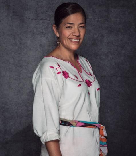 """María Dolores Mancinas. // Foto tomada del libro """"Primer Encuentro Nacional de Cocineras Tradicionales""""."""